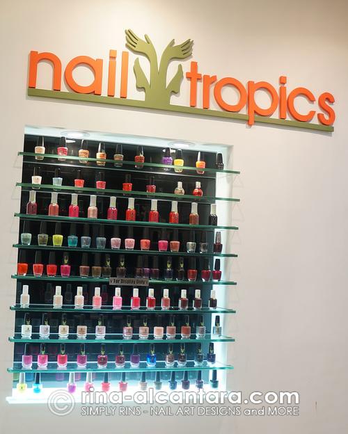 Nail Tropics Trinoma Nail Polishes