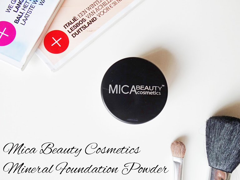 MICA Mineral Foundation Powder
