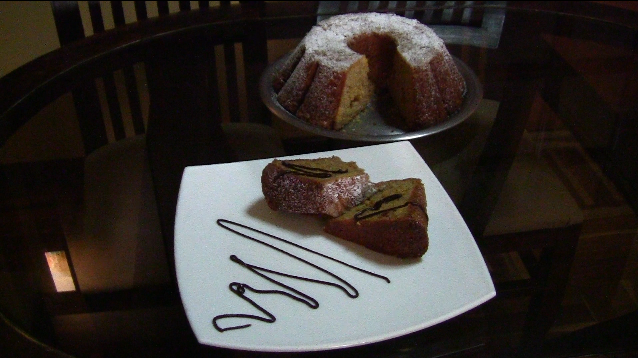 Receta de Cake de Plátano