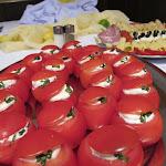 Rajská jablíčka plněná pěnou