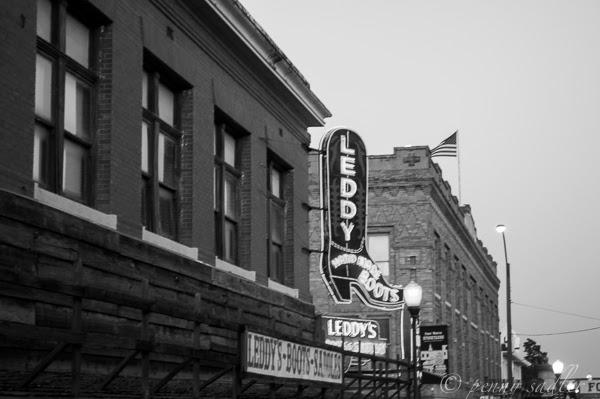M.L. Leddy's cowboy boots! Ft Worth Stockyards
