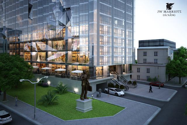 Không gian xung quanh dự án Marriott Đà Nẵng