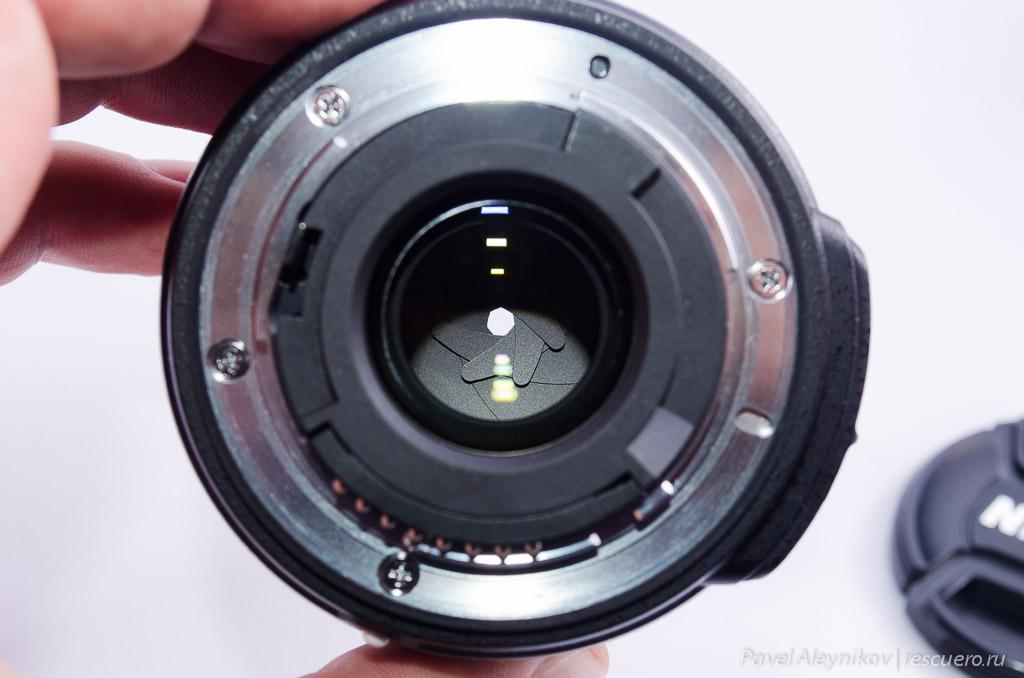 Минимальная диафрагма AF-S DX Micro Nikkor 40mm f/2.8G