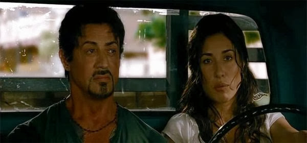 Screen Shot Of Hollywood Movie The Expendables (2010) In Hindi English Full Movie Free Download And Watch Online at Alldownloads4u.Com