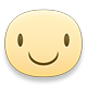 Smiling Facebook sticker