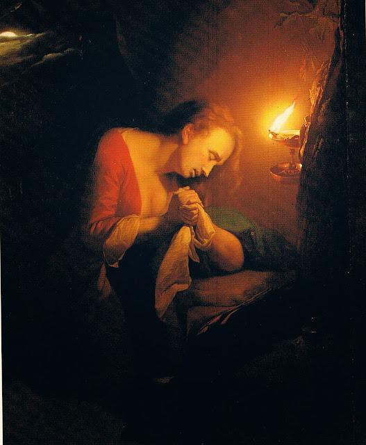 Godfried Schalcken - Penitent Mary Magdalene - 1690