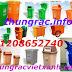 Thùng rác nhựa Composite, thùng rác treo, thùng rác 660L, xe gom rác, thùng rác 55L