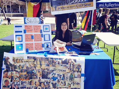 CSUF Salsa Booth