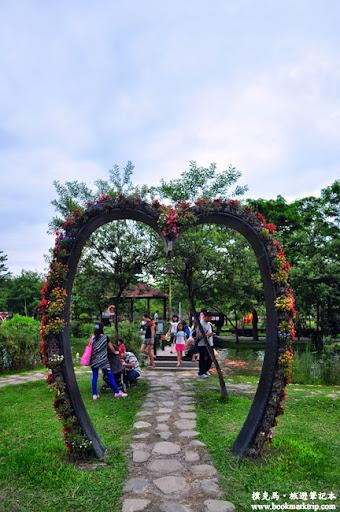 溪湖糖廠心型步道