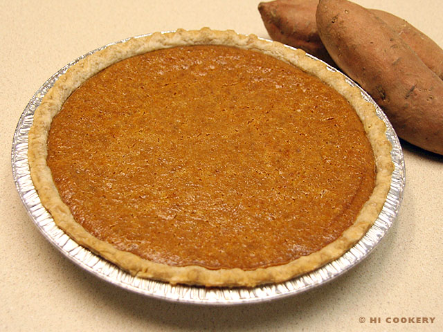 Sweet Potato Pie | HI COOKERY
