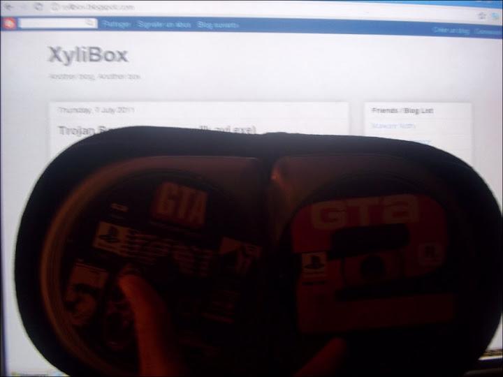 XyliBox: Cracking Playstation game ?