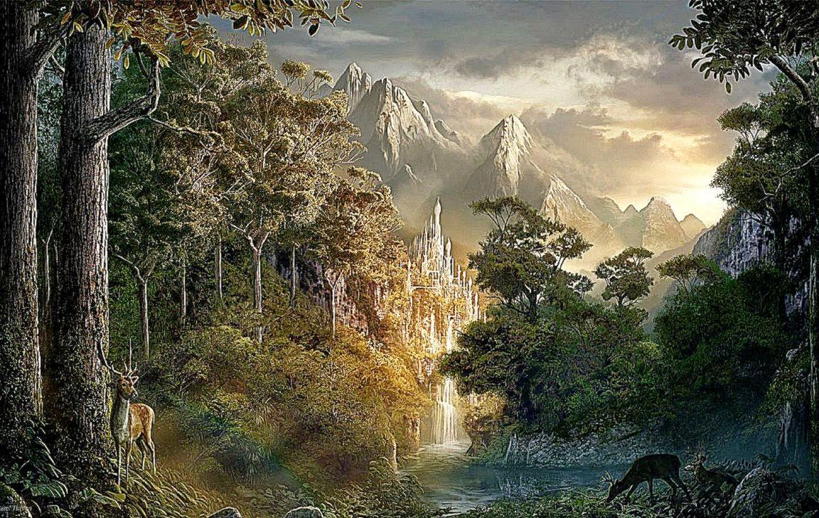 Landscape Fantasy Art Best Free HD Wallpaper