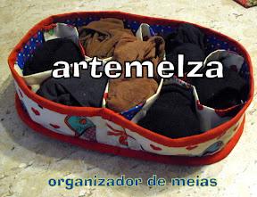 artemelza - organizador de meias