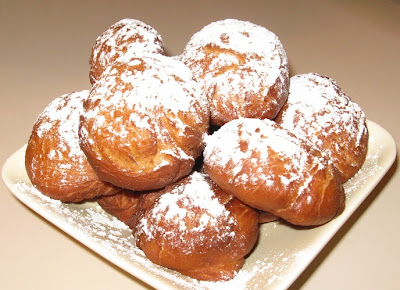Beignets fourrés au Nutella ou à la compote - recette indexée dans les Desserts