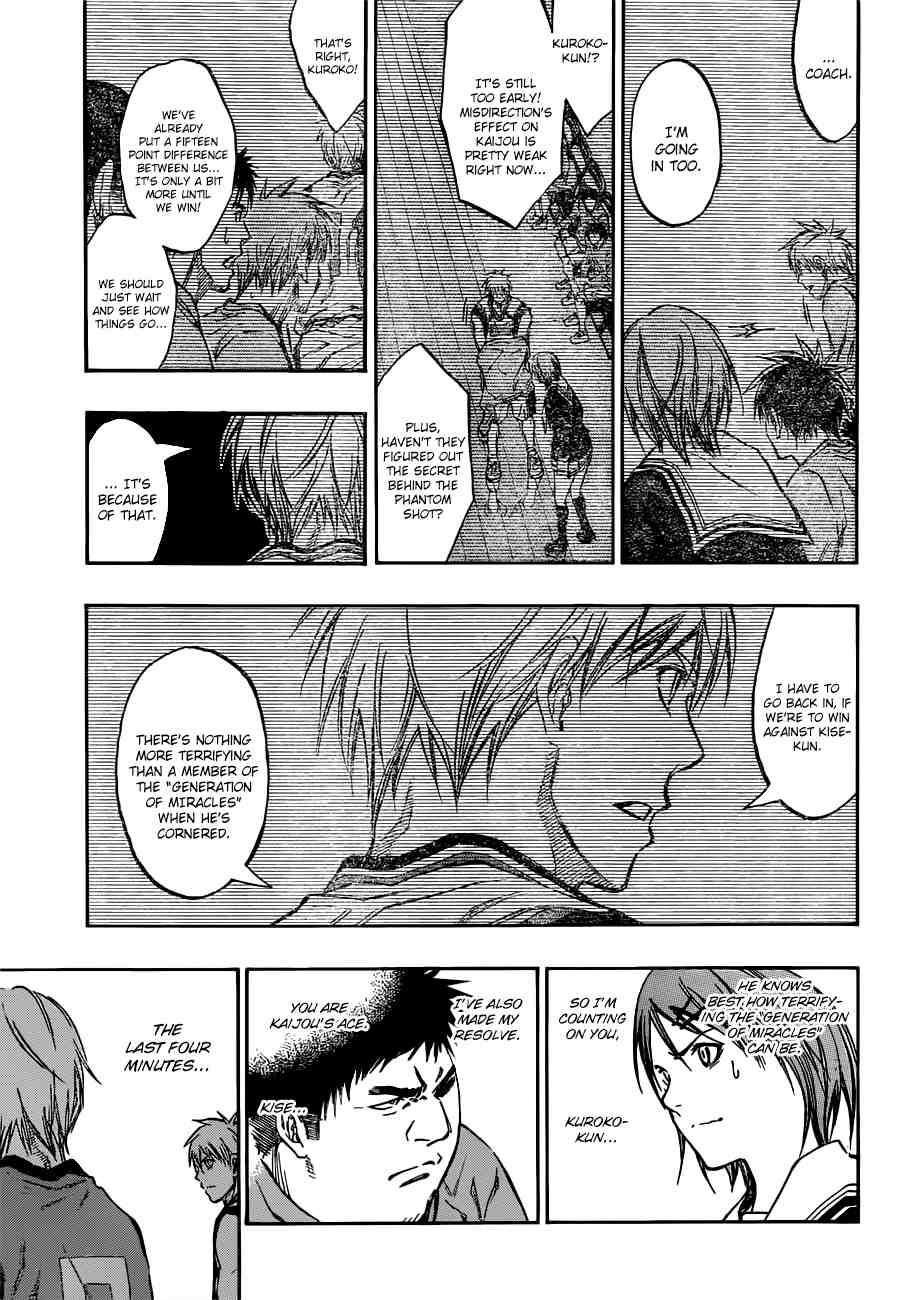 Kuroko no Basket Manga Chapter 195 - Image 17