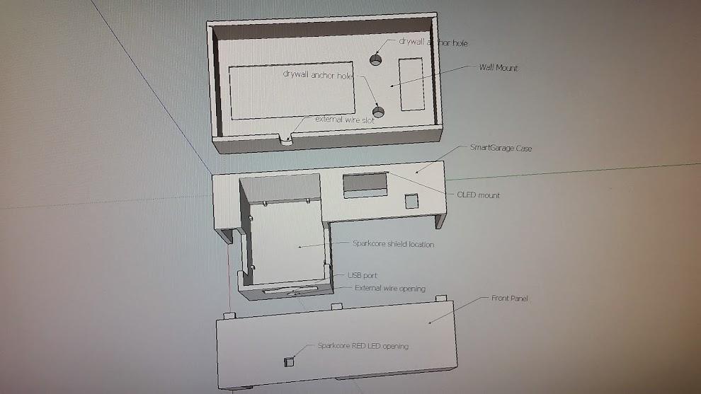 3D Printed Case Parts