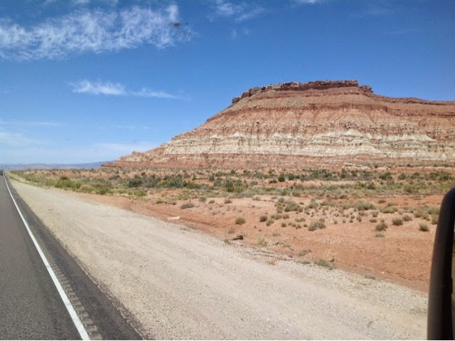 Red Cliffs on Arizona Route 389