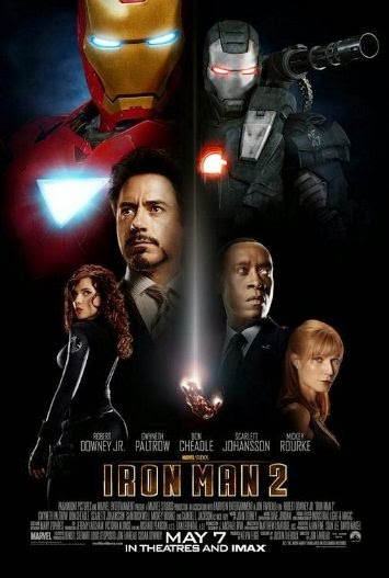 Poster Of English Movie Iron Man 2 (2010) Free Download Full New Hollywood Movie Watch Online At Alldownloads4u.Com