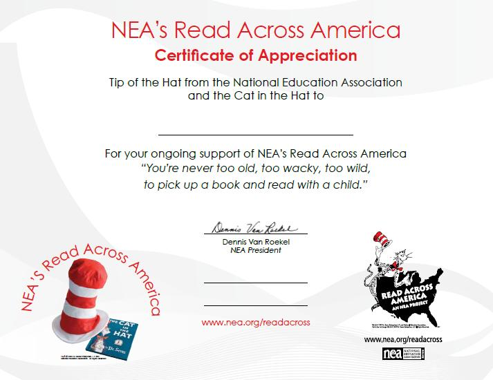picture about Read Across America Printable named Pleasurable and Information and facts with Young children: Study Throughout The usa Working day with children!