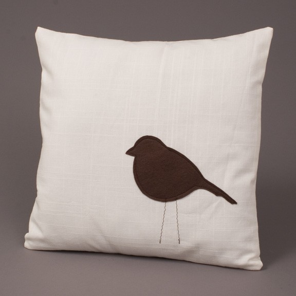 Finderskeepers little bird pillow in inside out magazine for Insider design pillow