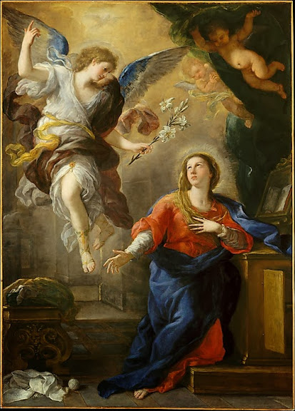 Luca Giordano - The Annunciation