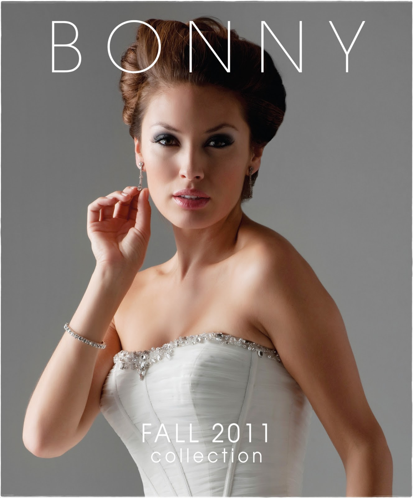 Blog pick our fall 2011 wedding gown catalog cover monicamarmolfo Image collections