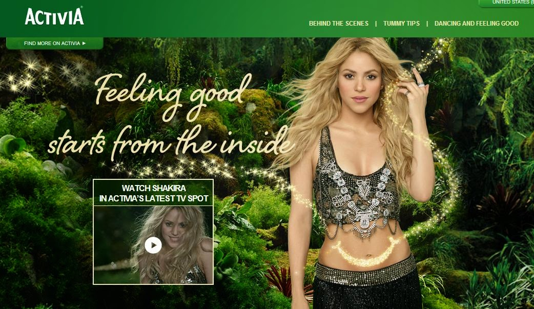 "Activia TV Commercial ""Dare to Feel Good"" featuring Shakira"