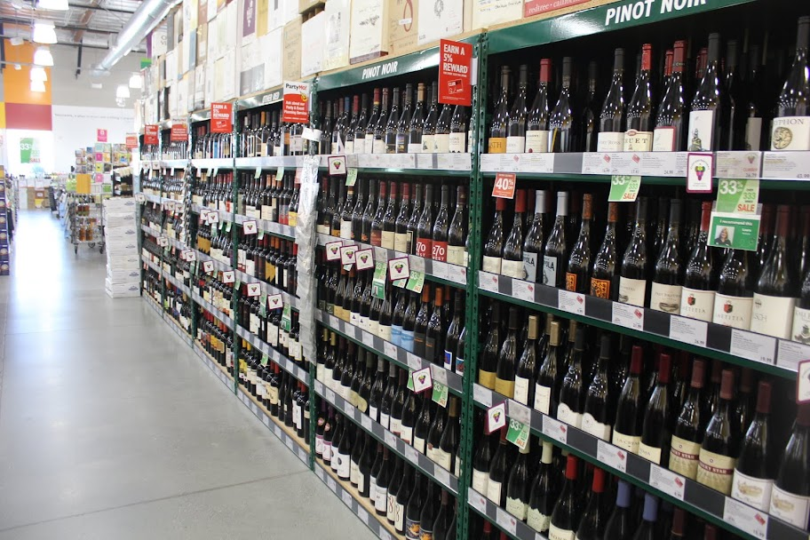 BevMo beer and wine tasting