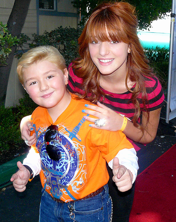Bella_Thorne and Zachary_Alexander_Rice at TJ Martell Event