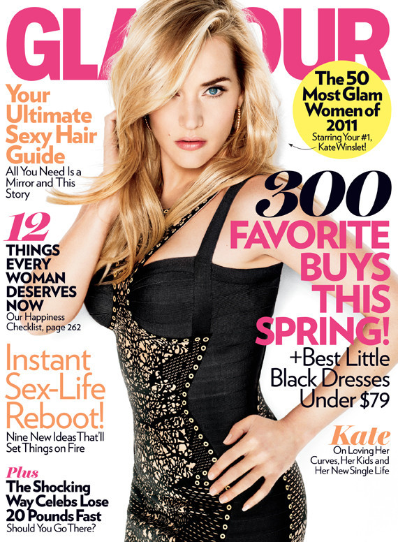 kate winslet 2011s. Actress Kate Winslet Covers