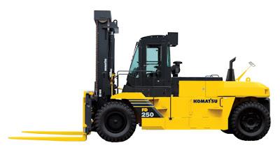 Xe nâng Komatsu 25 tấn FD250-7
