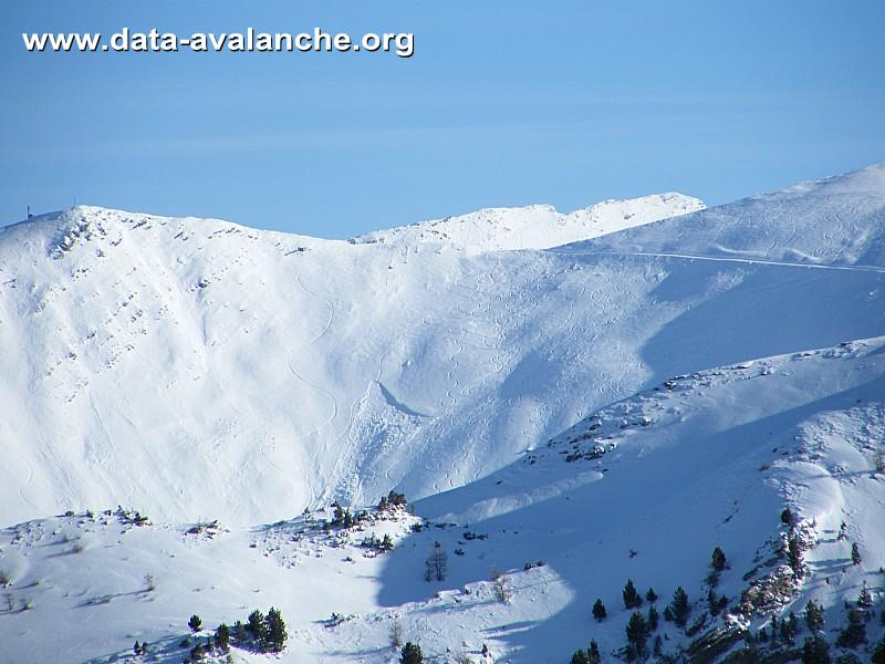 Avalanche Parpaillon, secteur Boussolenc, Les Orres - Portette - Vallon des Fontaines - Photo 1