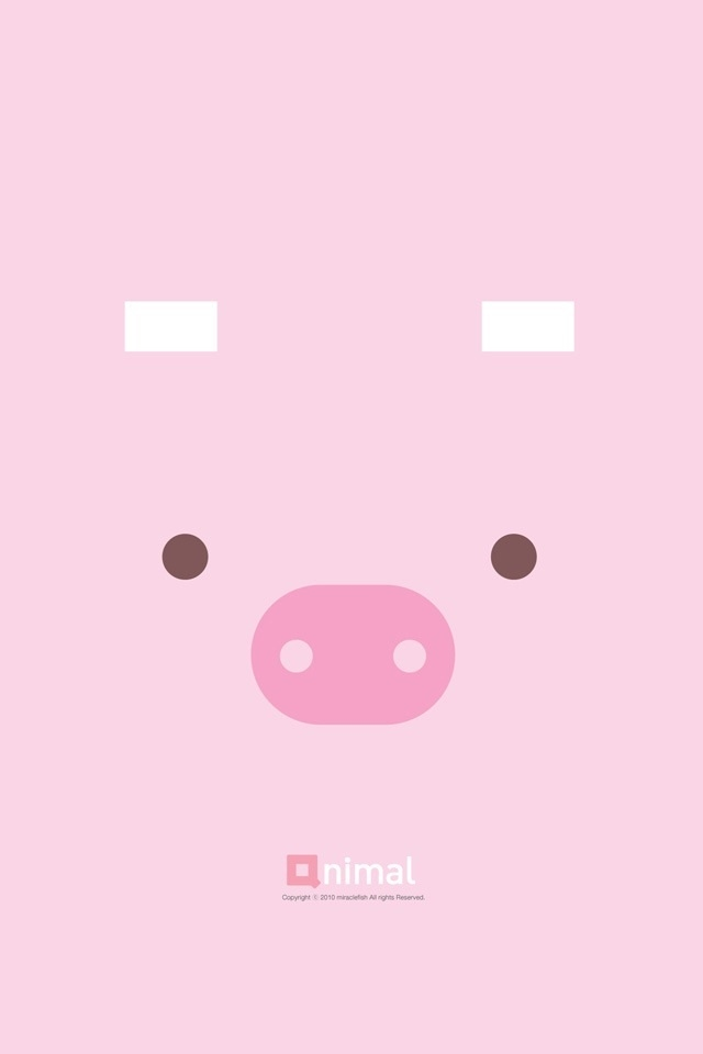Cute Pig Wallpapers For iPhone 4