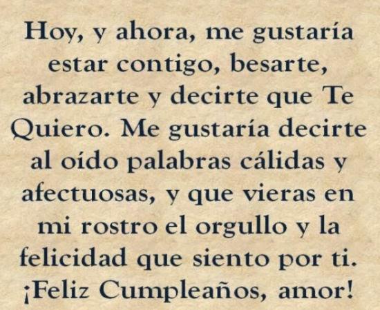 Frases de cumpleaños para mi novia ~ Frases de cumpleaños