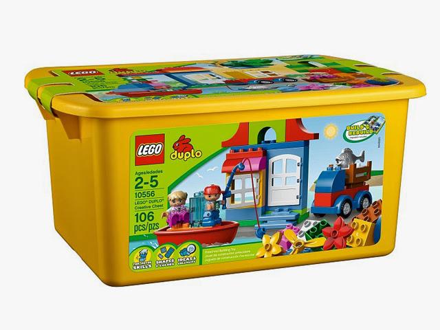 10556 レゴ デュプロ 黄色のクリエイティブ・コンテナ