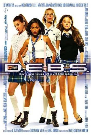 Poster Of D.E.B.S. (2004) Full Movie Hindi Dubbed Free Download Watch Online At alldownloads4u.com