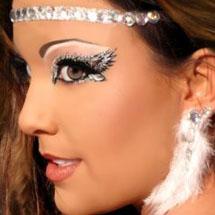 Maquiagem artística - anjinha