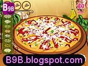 لعبة البيتزا هت وانواع المبيتزا المختلفة