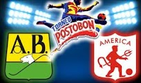 America  Bucaramanga online vivo 12 Septiembre Copa Postobon