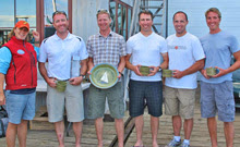 J/24 Nova Scotia, Canada sailors- winners of Downeast Regatta