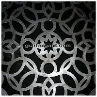ornamen+logam+cor+islami