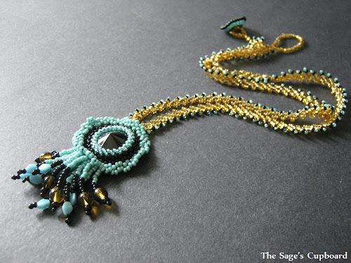 Turquoise Medallion Pendant
