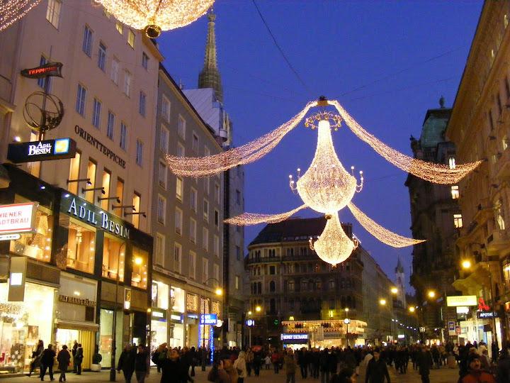 Роздественские ярмарки в Вене