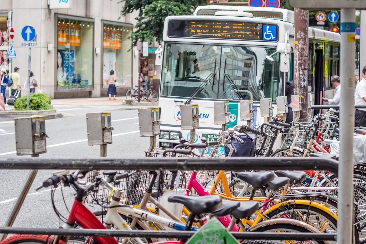 Bus and Bicycles