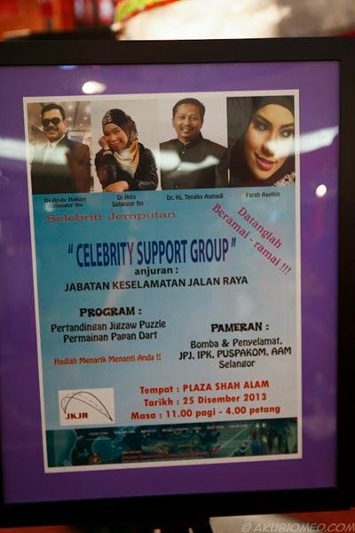 Pelancaran penubuhan Celebrity Suport Group JKJR Selangor