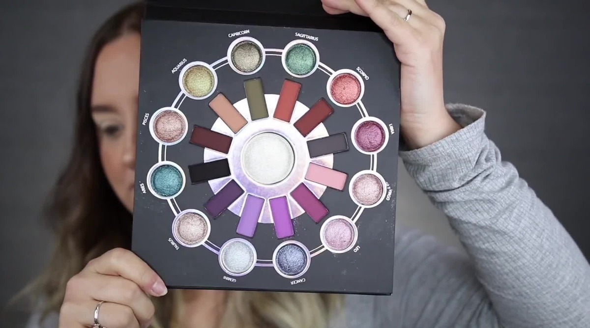 Cosmetics Zodiac 25 Color Eyeshadow & Highlighter Palette