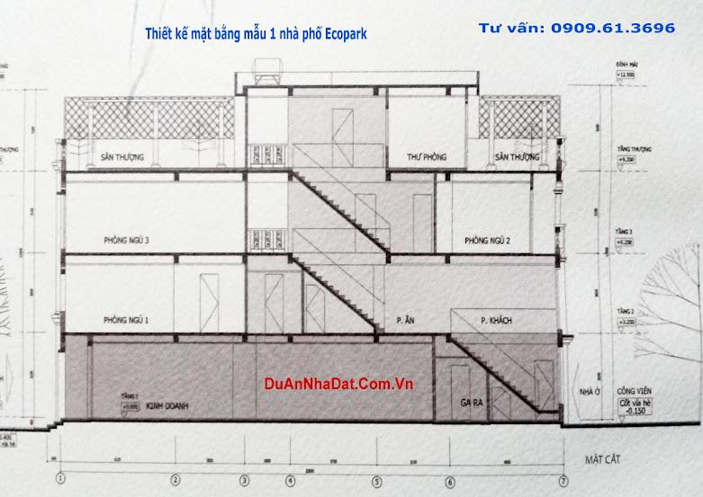 thiết kế dãy A