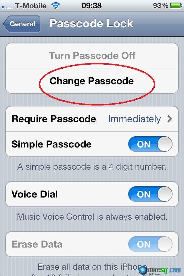 cấu hình bảo vệ iPhone 6, 6 plus