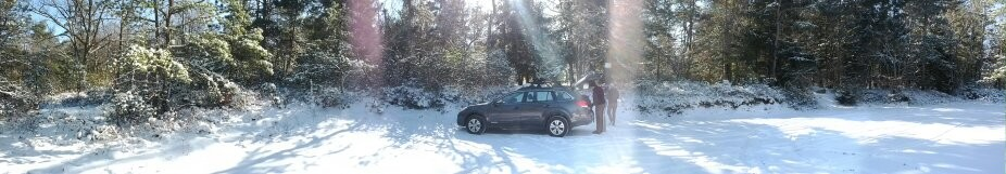 My Outback in the snow