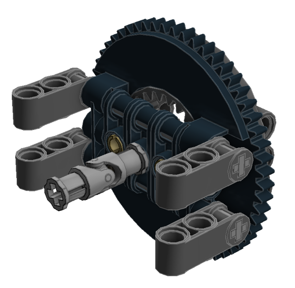 Planetary Geared Wheel 06A